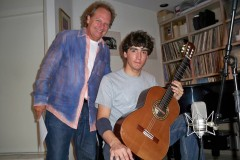 With Lee Ritenour, recording time 2010